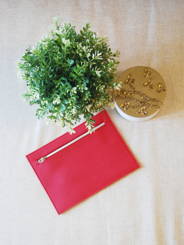 Red Givenchy Pouch 3