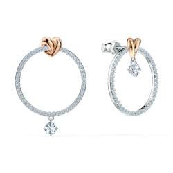 Lifelong Heart Hoop Pierced Earrings 7