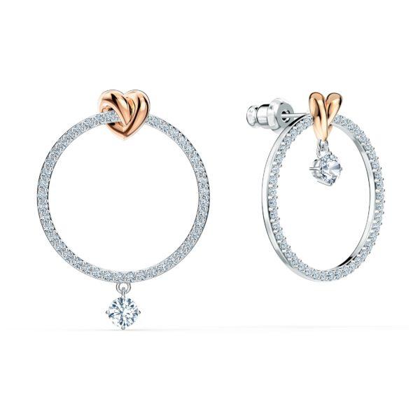 Lifelong Heart Hoop Pierced Earrings 5