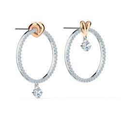 Lifelong Heart Hoop Pierced Earrings 6