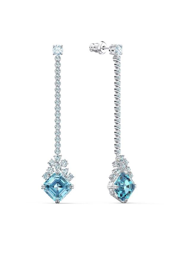 Sparkling Linear Pierced Earrings 4