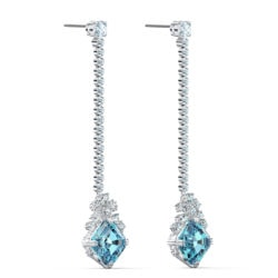Sparkling Linear Pierced Earrings 7