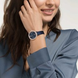 Crystal Frost Blue Watch 6