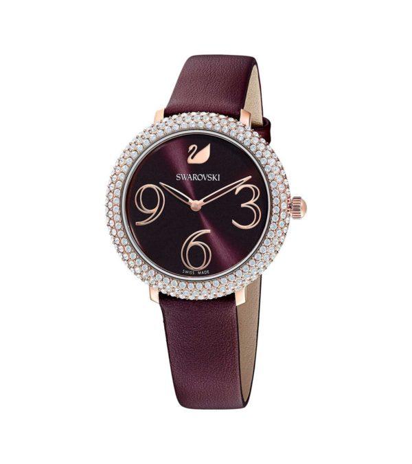 Crystal Frost Dark Red Watch 5