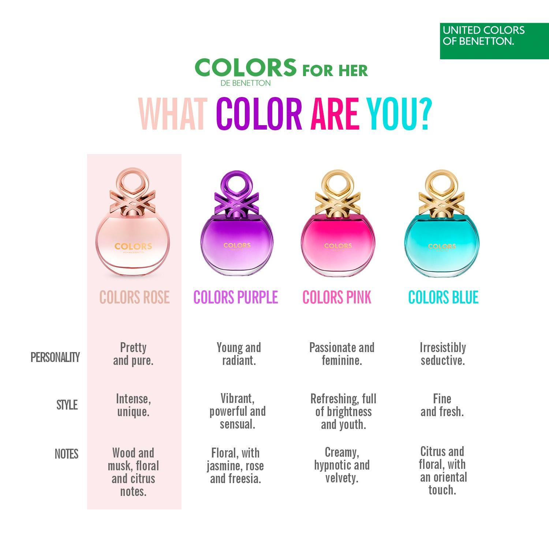 Colors de Benneton - Rose 8